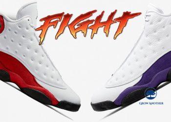 """Higher Air Jordan 13: """"Chicago"""" or """"Lakers"""""""